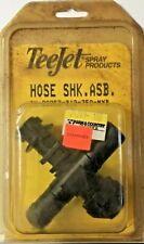 "22252-312-750-NYB TeeJet 1/2"" Double Hose Barb Diaphragm Check Valve Nozzle Body"