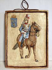 Sehr dekoratives Gips - Relief - Bild  -  Kaiserreich Frankreich 1855-1865