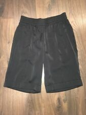 BCBG Max Azria Black Pressed Front Shorts with Cuff, Size XS NWT! Retail $128