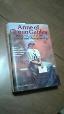 ANNE OF GREEN GABLES, 3 books in 1 vol LUCY MAUD MONTGOMERY 1986 HC DJ VGC