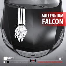 MILLENNIUM FALCON HAN SOLO RACE HOOD STRIPES Star Wars Car Vinyl Sticker Decal