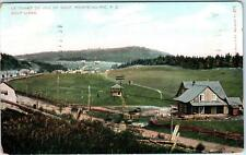 POINTE-AU-PIC, PQ Canada    View of GOLF LINKS   1907    Postcard