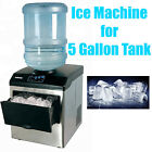 33 Lbs/Day Portable Table Top Ice Maker Making Machine for 5 Gallon Water Bottle photo