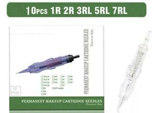10PCS 1R-0.30MM Revolution Tattoo Needle Permanent Makeup Cartridge