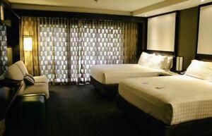 Disney's Contemporary Resort Room Curtain Prop