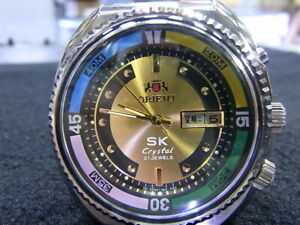 Pre Owned ORIENT King Diver Man's Big Size Automatic Watch