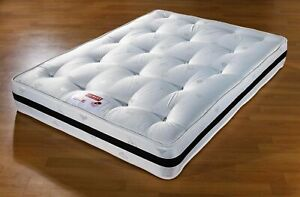 NEW SPRUNG ORTHOPAEDIC MATTRESS 3FT SINGLE, 4FT, 4FT6 DOUBLE, 5FT KING