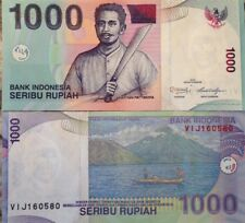 INDONESIA 2013 1000 RUPIAH UNCIRCULATED  BANKNOTE P-141 BUY FROM A USA SELLER !