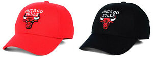 Chicago Bulls Structured Basic Flex Fitted Hat Official Adidas NBA Official Cap