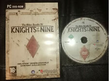 Elder Scrolls IV: Knights of the Nine (PC, 2006) w/Manual