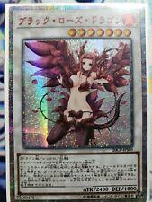 Black Rose Dragon YUGIOH orica SECRET RARE proxy altered art alternative custom