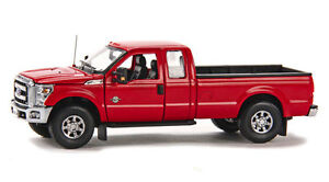 """Ford F250 Pickup Truck - Super Cab - 8 Ft Bed - """"Red"""" - 1/50 - Sword #SW1100R"""