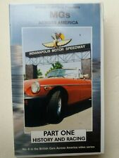 MGs across America - Part one : History and Racing - video VHS - As new
