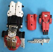 -- G1 transformadores Autobot Pretender Vroom - - pistola Interior Exterior Lateral Coche -