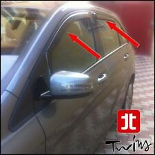 4 Deflettori Aria Antiturbo Oscurati Mercedes Classe B dal 2011 W246