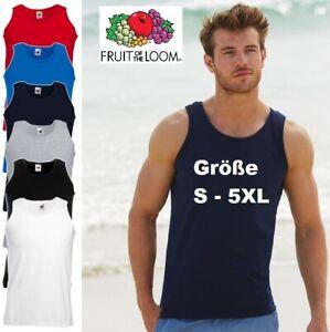Fruit of the Loom Trägershirt Athletic Vest Tank Top T-Shirt Muskelshirt *NEU*