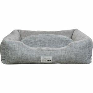 Calming Dog Bed Pillow Pet Fur Comfy Warm Soft Zipped Mattress Anti Slip Grip