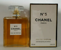 Chanel No 5 Eau de Parfum Spray 3.4 oz / 100ml For Women Brand New