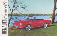 Renault Caravelle Period USA issued Postcard
