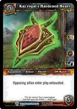 WARCRAFT WOW TCG CAVERNS OF TIME : Kaz'rogal's Hardened Heart X 4