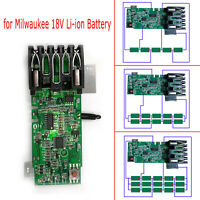 Charging PCB Circuit Board Repair Parts for Milwaukee M18 18V Li-ion Battery IP
