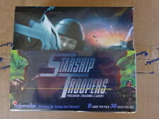 SEALED BOX OF STARSHIP TROOPERS MOVIE TRADING CARDS! INKWORKS! 36 PACKS