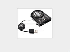 Mini Cooling Pad Fan Vacuum USB Cooler Air Extracting for Notebook Laptop