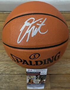 DONOVAN MITCHELL SIGNED SPALDING NBA BASKETBALL W/ JSA COA UTAH JAZZ