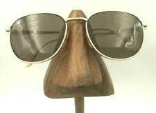 Vintage Garfield Foremost 916-1978 Pink Gold Metal Oval Sunglasses Frames