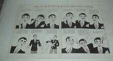 """VERY NEAT 1932 EDDIE CANTOR """"HOW TO MAKE A QUACK - QUACK"""" GREAT DISPLAY PIECE"""