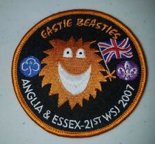 21ST World Scout Jamboree Eastie Beastie Anglia & Essex UK 2007