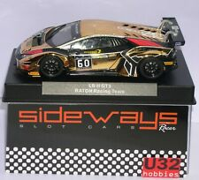 RACER SIDEWAYS SWCAR01F LAMBORGHINI HURACAN LB H GT3 #60 RATON RACING TEAM