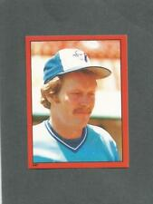 1982 O-Pee-Chee Baseball Sticker Ernie Whitt #247 Toronto Blue Jays *MINT