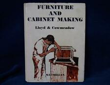 Furniture and Cabinet Making by Lloyd Cowmeadow ( Hardcover , 1966 ) Book