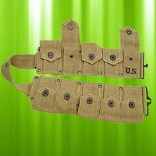 US Marked Garand Cartridge Belt