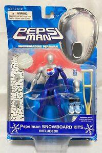 Pepsiman Snowboard Kits action figure Blue  Bandai 1998