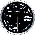 DEFI LINK METER ADVANCE BF TURBO BOOST GAUGE -3 BAR 60MM DF14701 WHITE