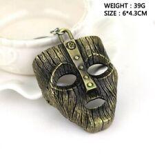 Movie The Mask Keychain Keyring Fancy Dress Loki Halloween key chains Pendant