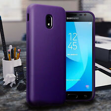 Samsung Galaxy J5 2017  Protective Bumper Gel Case Drop Resistant Cover Purple