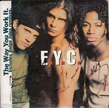 E.Y.C. The Way You Work It CD Single / Card Sleeve - Autographed