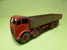 DINKY SUPERTOYS 901 FODEN DIESEL 8 WHEEL WAGON - GOOD CONDITION