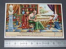 CHROMO LIEBIG OXO 1958 SAVANTS ANTIQUITE HIPPOCRATE MEDECIN MEDECINE GRECE