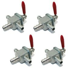 (4) TWO-WAY FUEL GAS CUT-OFF VALVES for Toro Exmark Lawn Boy 1-633347 E633347
