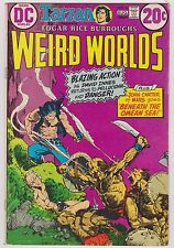 Weird Worlds with John Carter of Mars #6,  Fine Condition!