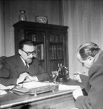 Jacob KAPLAN 1953 - Grand Rabbin de Paris - Négatif 6 x 6 - 142