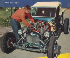 CAR CRAFT MAGAZINE 1957 NORM GRABOWSKI RAT HOT ROD CUSTOM T BUCKET KOOKIE KAR