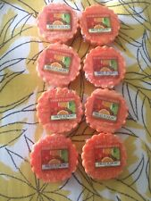 Yankee Candle Wax Melts ...... FRUIT FUSION X 8 **** RARE!