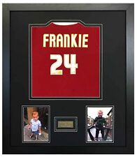 More details for shirt frame for childs football, any shirt + engraved plaque with your wording