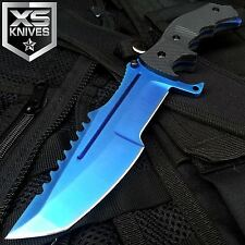 11'' CSGO Tactical Blue Counter-Strike  Huntsman Hunting Survival Knife Bowie