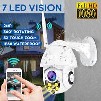 1080P 2MP WiFi IP Cámara de Vigilancia 7 LED Infrarrojos Vision Nocturna